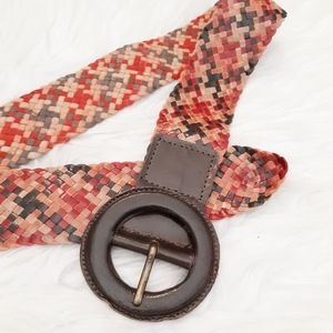 VTG Nine West Leather Belt